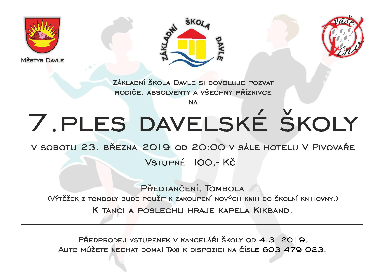 7. ples davelské školy